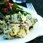 Garlic and Fresh Herb Potato Salad