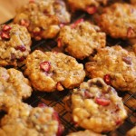 Triple Chocolate Cranberry Oatmeal Cookies
