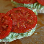 Avocado and Goat Cheese Open-Face Sandwiches