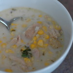 Sweet Corn and Chicken Chowder