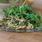 Artichoke, Spinach, and Ricotta Pie
