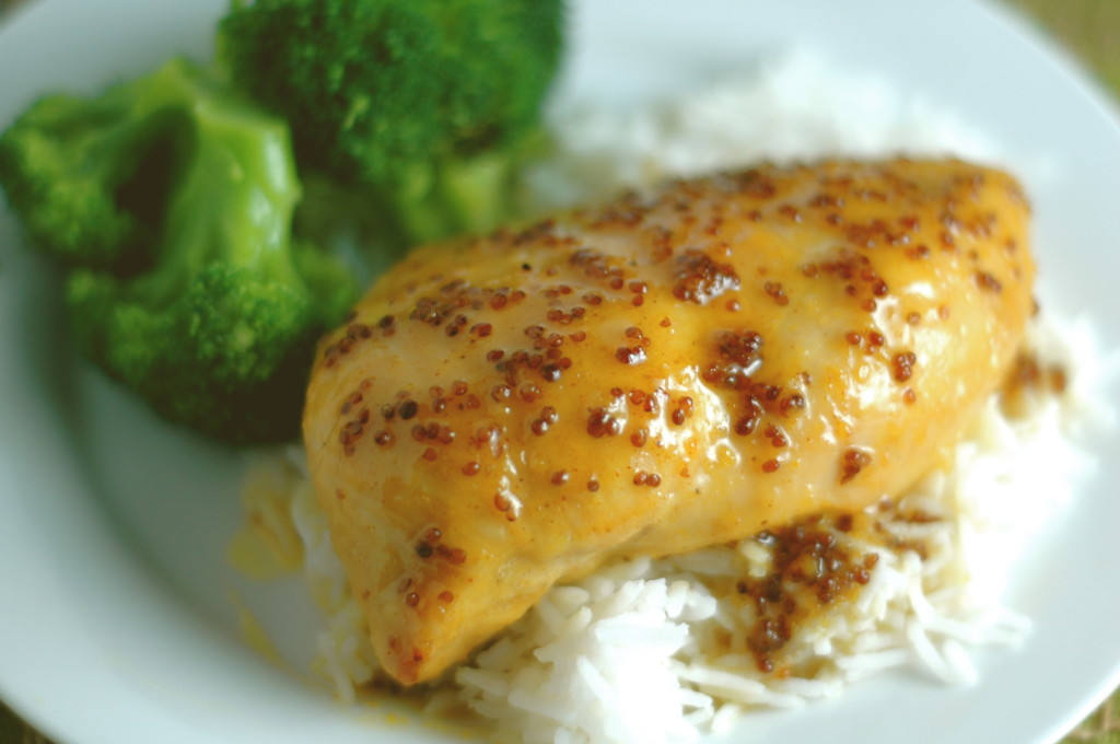 Honey-Mustard Glazed Chicken