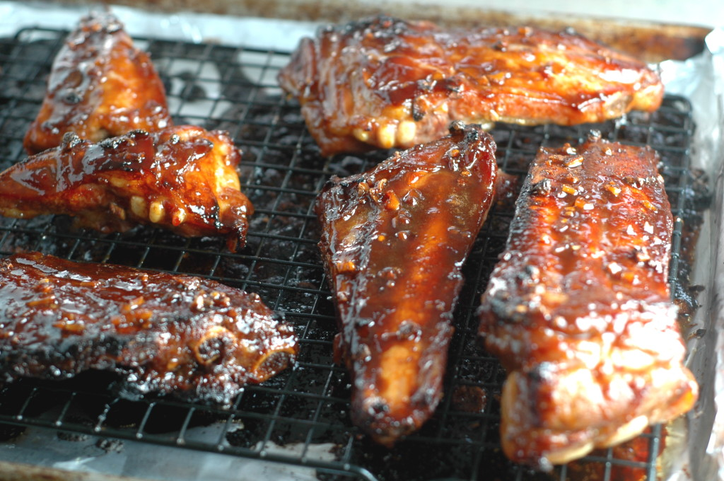 Soy-Sauce Marinated Spare Ribs