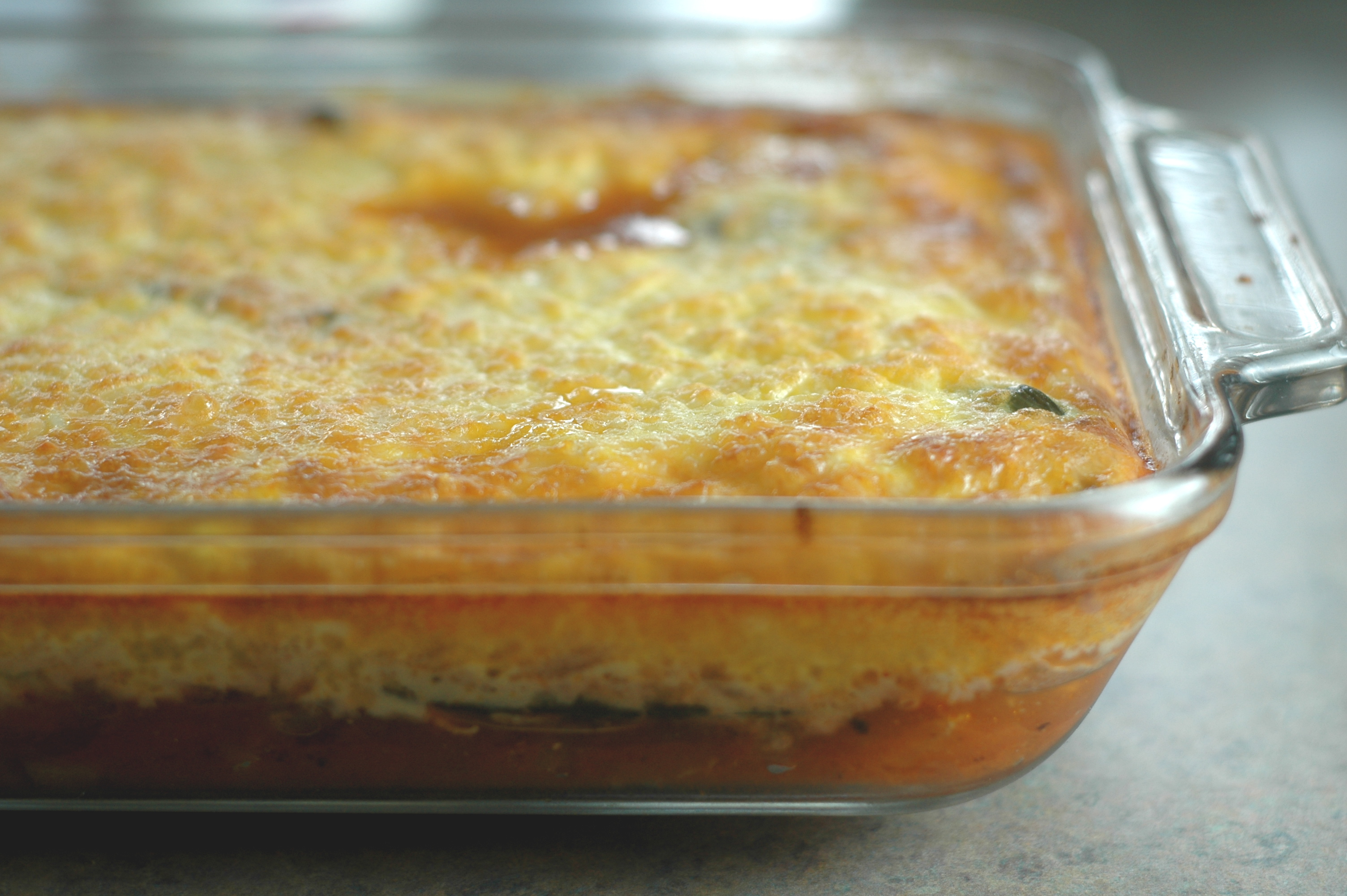 Baked Chile Relleno Casserole