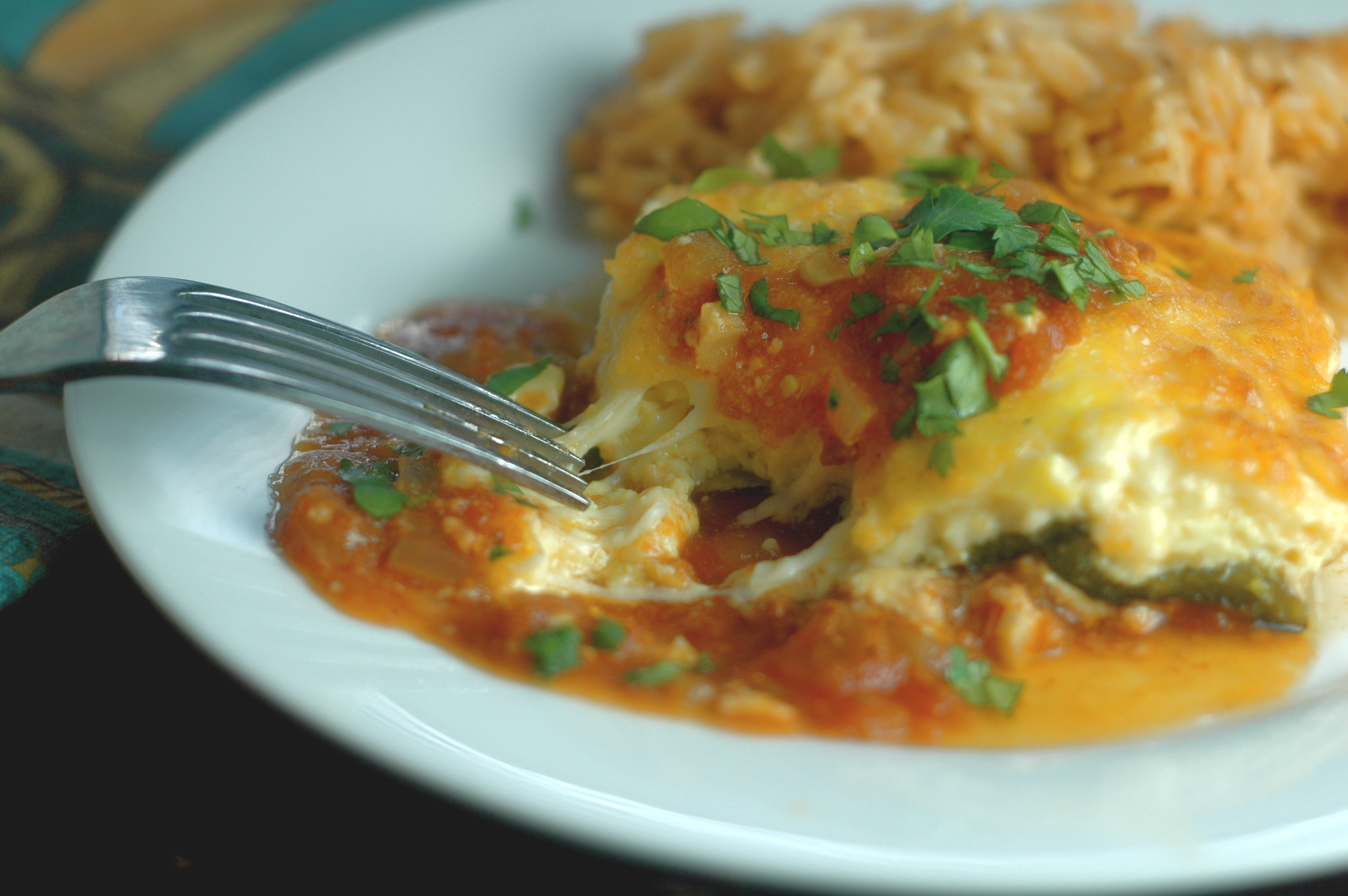 Chiles Rellenos Casserole - but i'm hungry