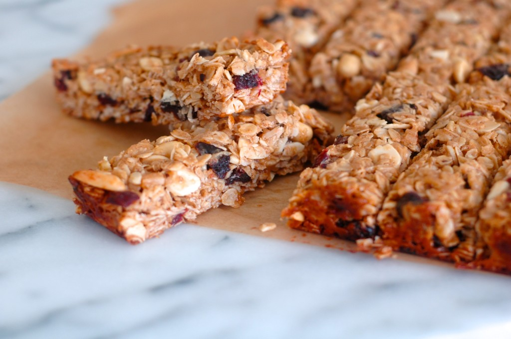 Fruit and Nut Chewy Granola Bars