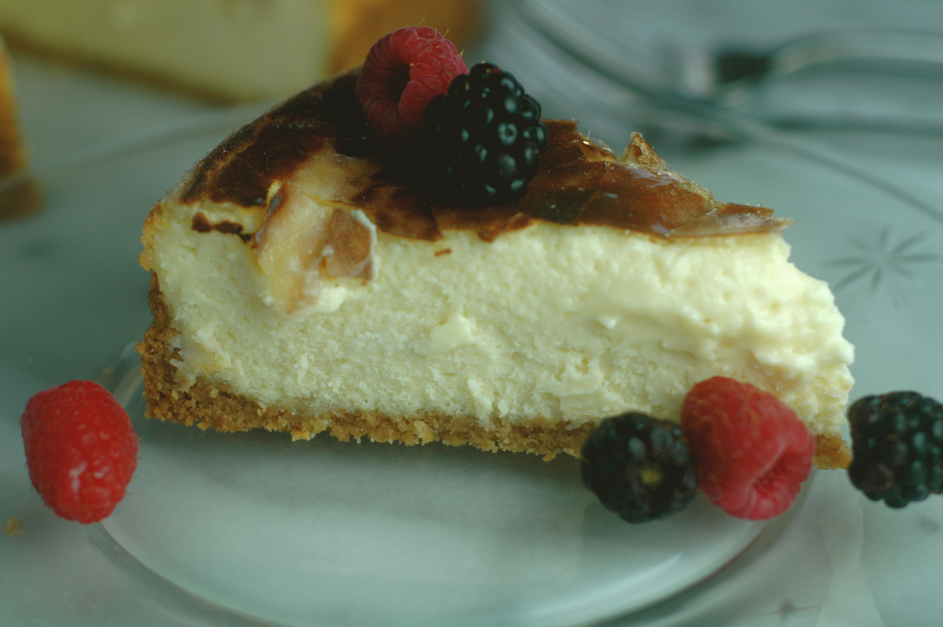 Creme Brulee Cheesecake