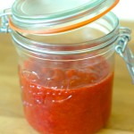 Strawberry Rhubarb Compote with Cardamom
