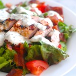 Chicken BLT Salad with Fresh Ranch Dressing
