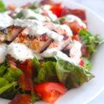 Chicken BLT Salad with Fresh Ranch Dressing