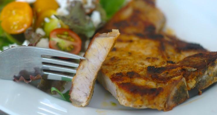Pork Chops Adobado
