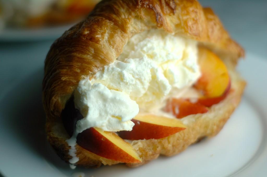 Croissant Ice Cream Sandwich