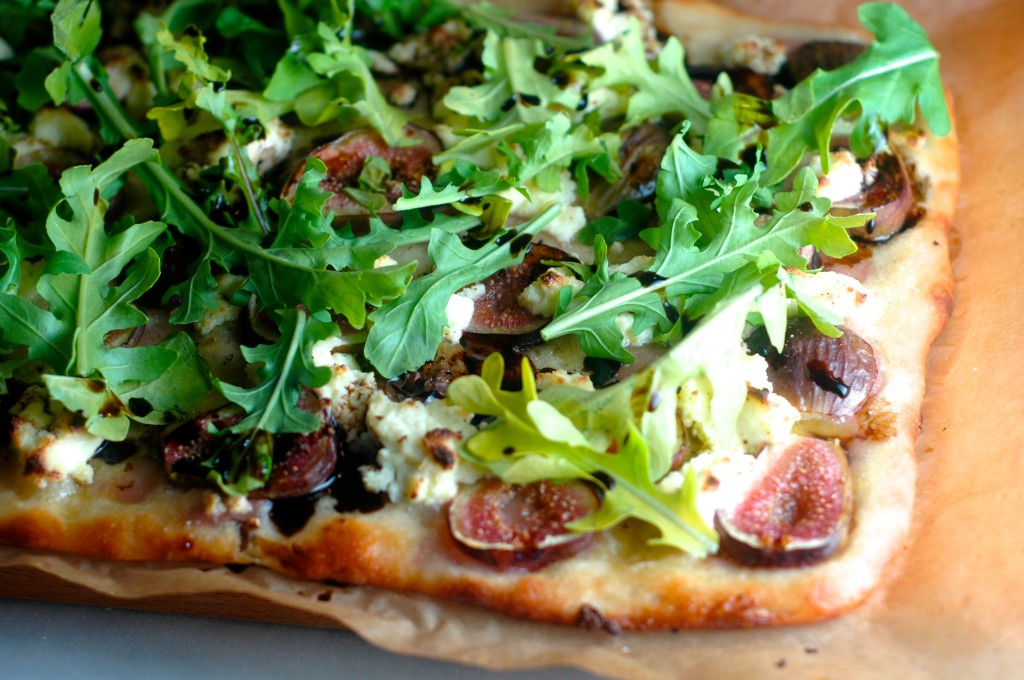 Fig and Ricotta Pizza