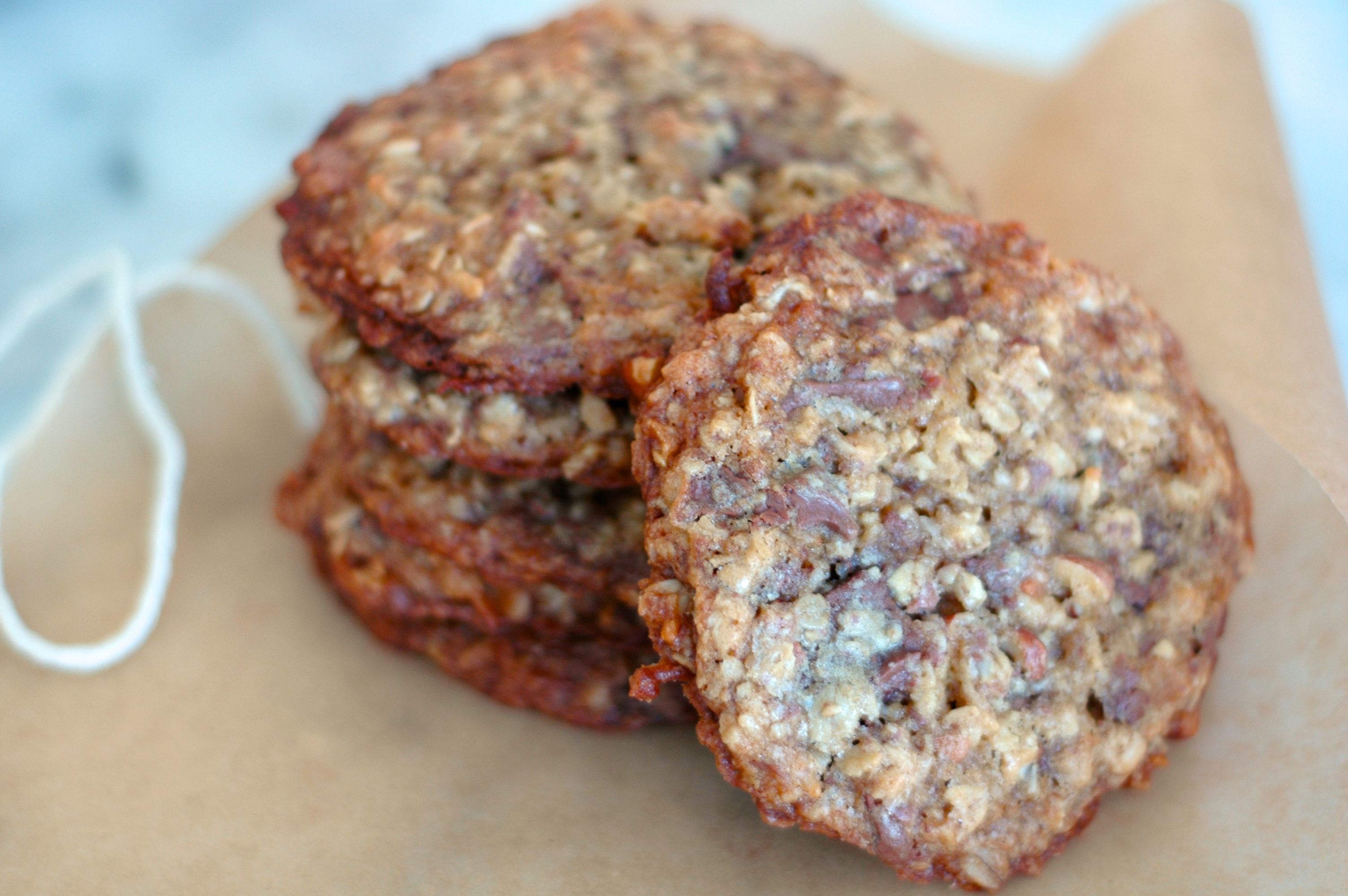 Oatmeal Chocolate Chunk Cookies with Coconut and Almonds - but i'm ...