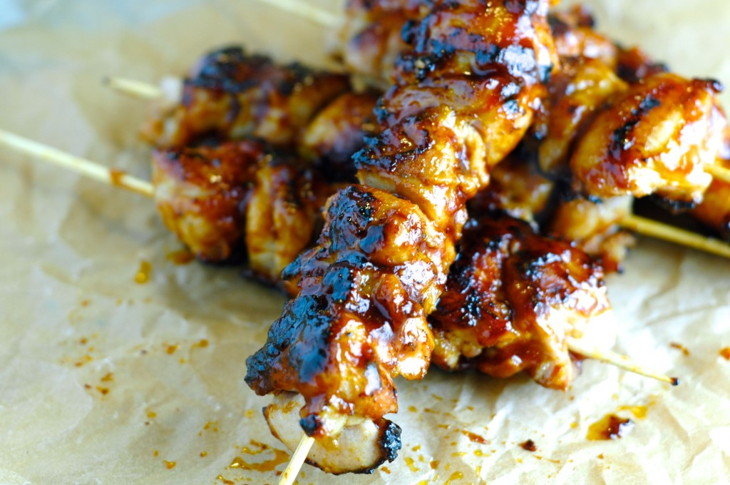 Bacon Bourbon Barbecue Kebabs