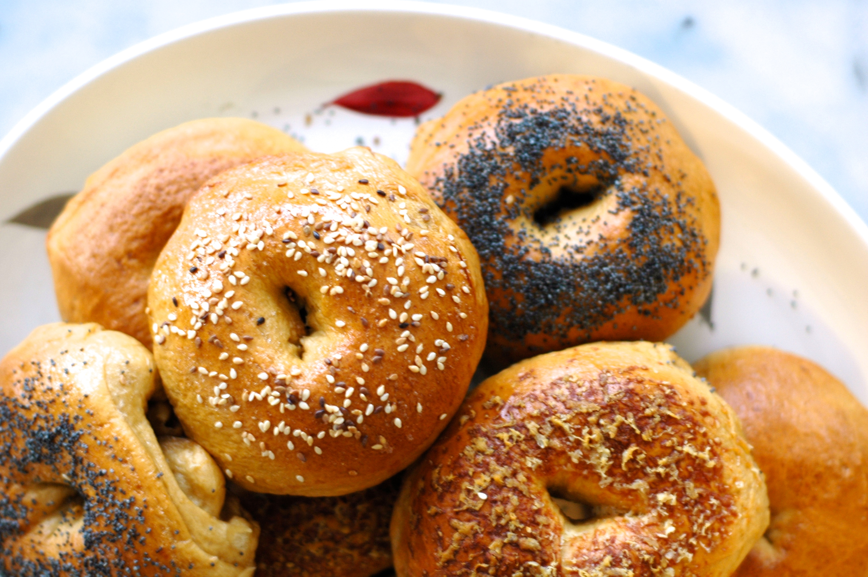 Soft, Chewy Bagels