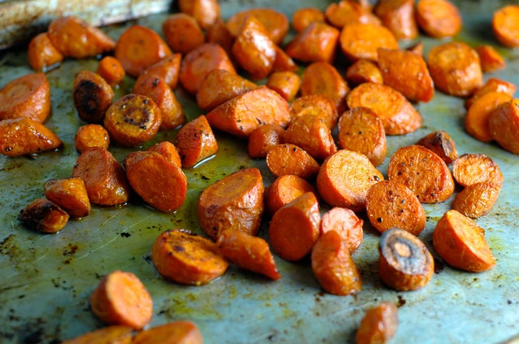Roasted Carrot Salad with Cumin Vinaigrette