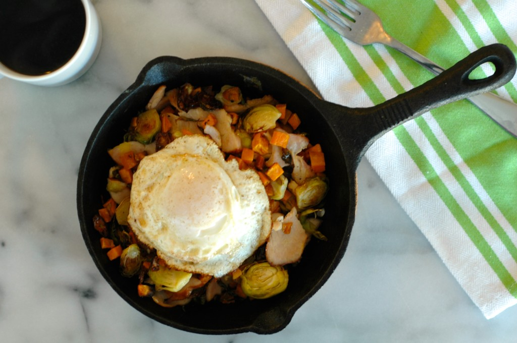 Sweet Potato, Brussels Sprout, and Turkey Hash - but i'm ...