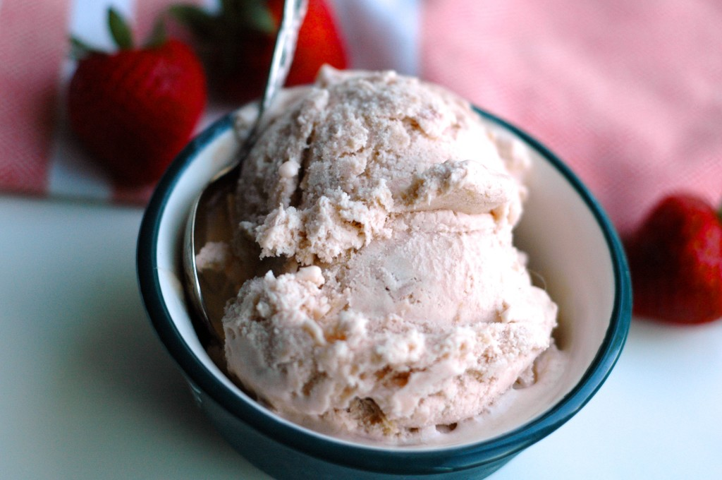 Rhubarb Frozen Custard